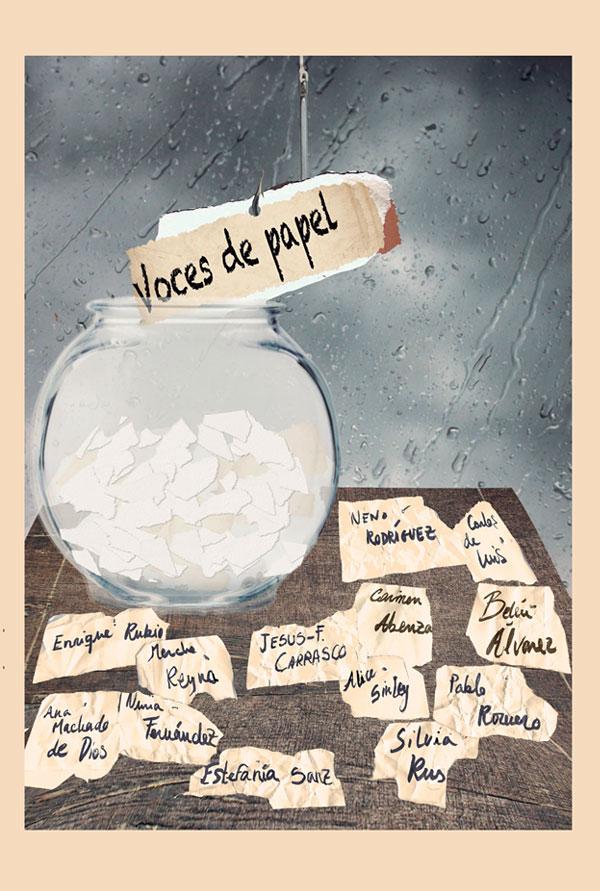 Portada del libro Voces de Papel